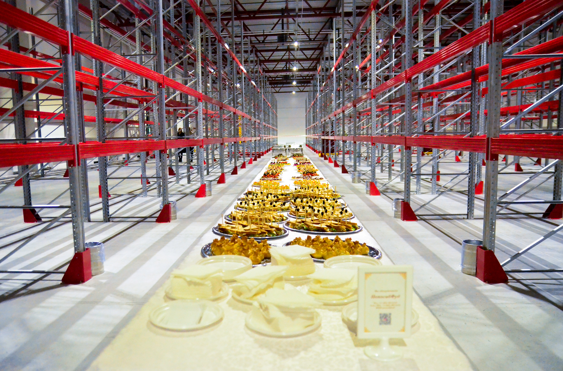 Открытие нового склада площадью 2000 м.кв.